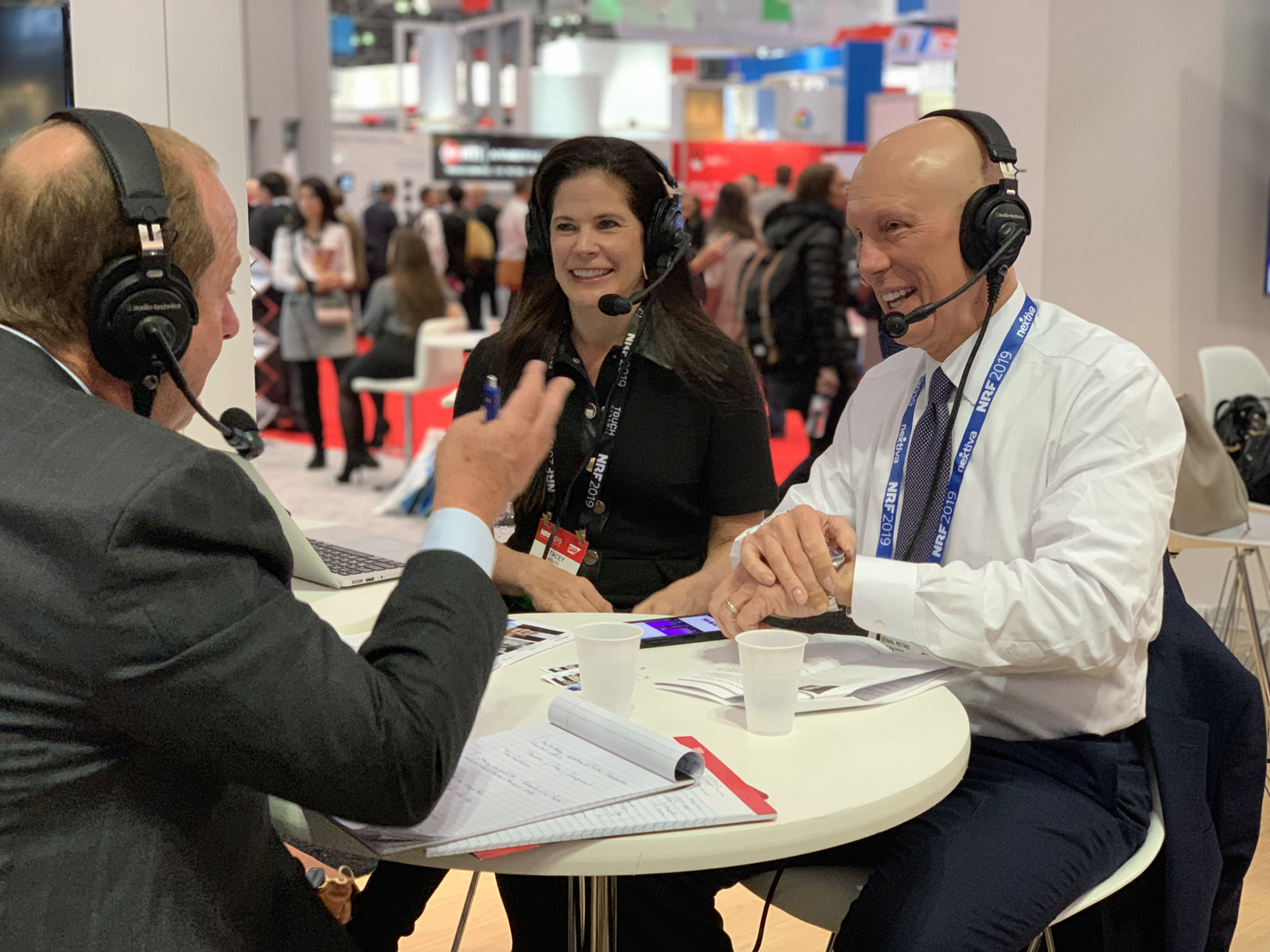 NRF President and CEO Matthew Shay and SW Retail Advisors Founder Stacey Widlitz
